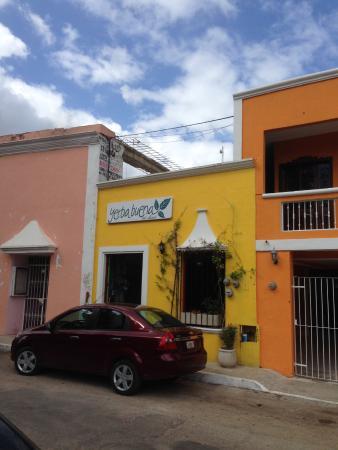 Yerbabuena del Sisal Restaurante: fachada principal