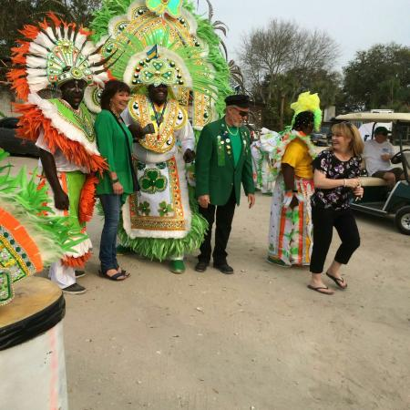 Junkanoo World Museum & Arts Centre: Junkanoo World...Savannah St Patrick's Day 2016