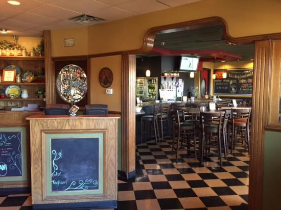 Cucina Tagliani Italian Kitchen - Glendale: Entrance looking into Bar \u0026 Red-Door Restroom & Entrance looking into Bar \u0026 Red-Door Restroom Entrance - Picture of ...