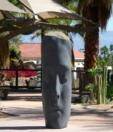 Palm Springs Art Museum in Palm Desert: It was presented to the museum in 2013 in loving memory of a deceased husband.