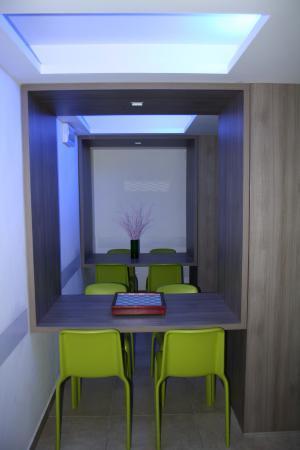 Hotel Sorriso: sala lettura / relax