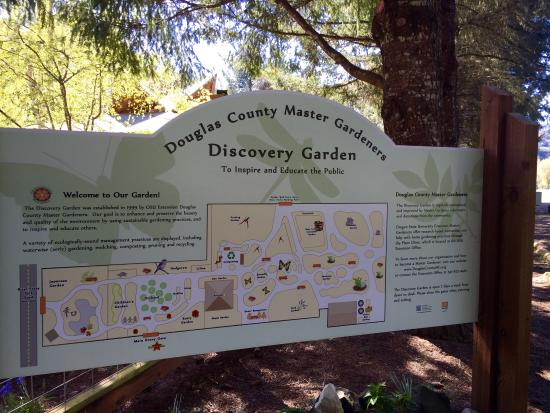Discovery Garden: Still a beautiful place to picnic, learn at your own place, and have kids run around.