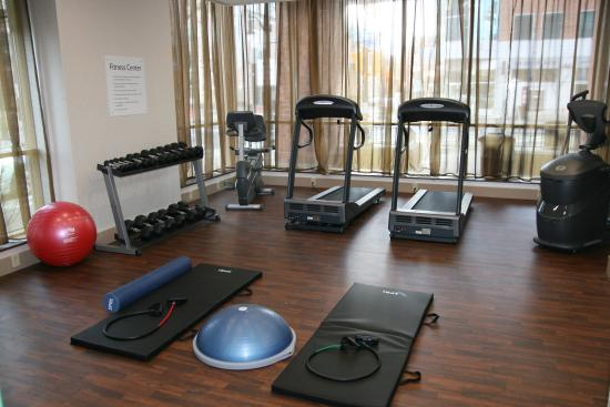 Holiday Inn Express & Suites Downtown Buffalo: Fitness Center