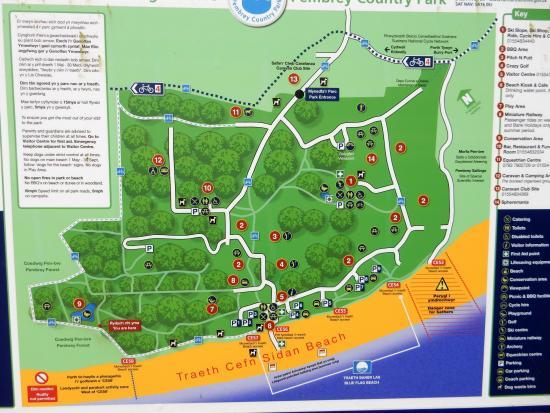 Campsite Pembrey Country Park and Beach