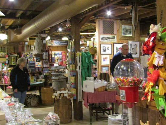 Rockingham, VT: Inside of the store.
