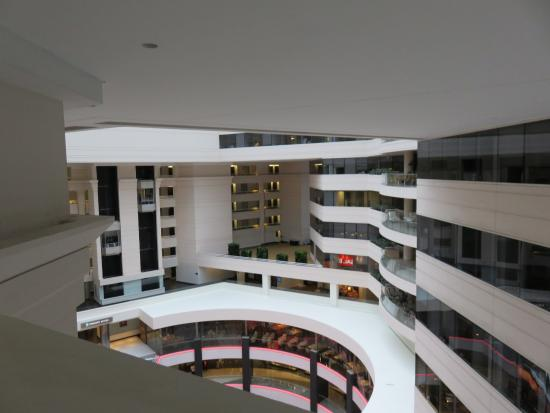 looking down from right outside room picture of embassy suites by rh tripadvisor com