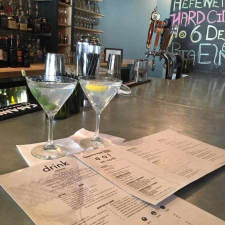 Pittsfield, MA: Perfectly crafted Ethereal martinis