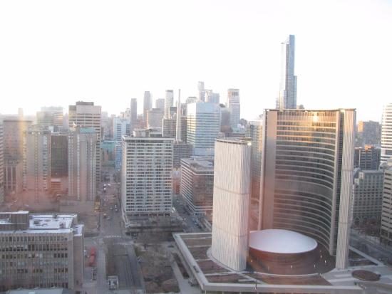 Sheraton Centre Toronto Hotel: View from hotel room