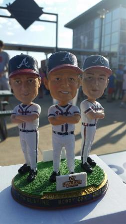 Trustmark Park: They give away great bobbleheads