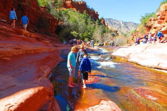 Picture of slide rock state park sedona for Cabine vicino a slide rock sedona