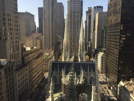 view from room facing Church - Picture of Lotte New York Palace, New York City - TripAdvisor