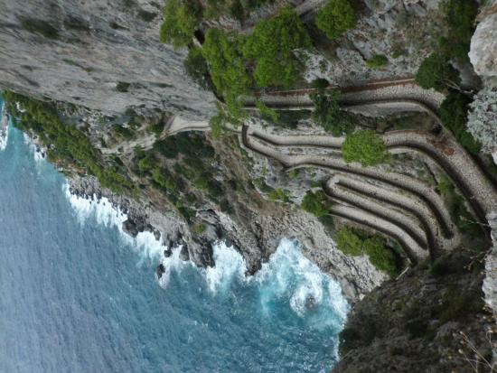 Via Krupp Capri Italia - Picture of Via Krupp, Capri ...