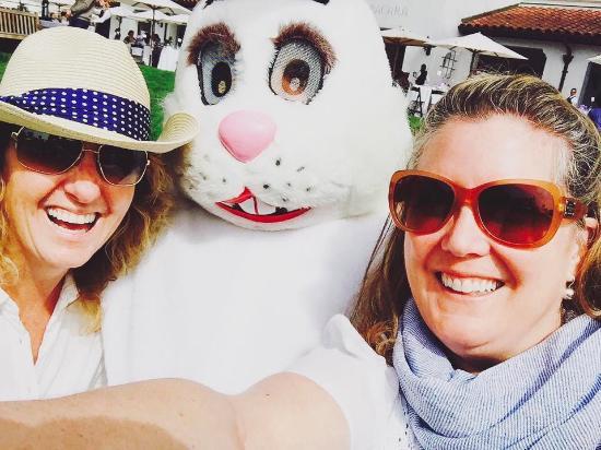 "Goleta, CA: ""The Easter Bunny!! I know him!"""