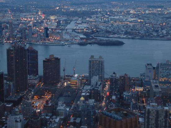 mi viaje a nueva york vista desde el empire state