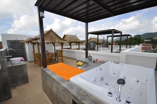 private terrace penthouse apartment picture of duangjai rh tripadvisor com sg