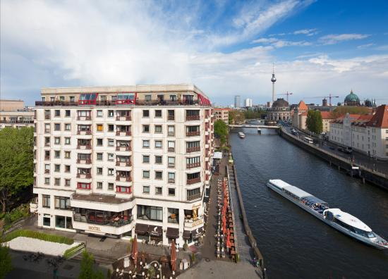 Riverside Hotel : Fassade