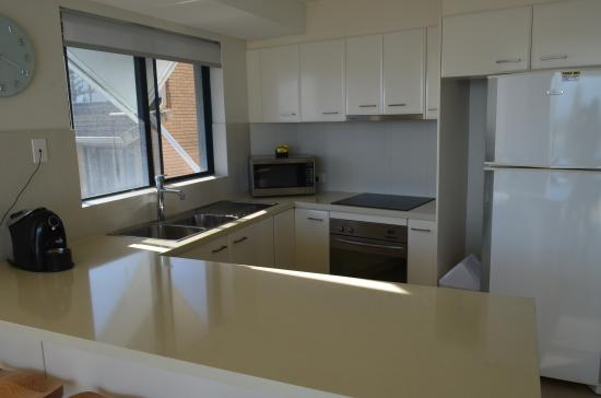 Cerulean Apartments: Unit 9 Kitchen