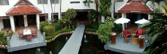Lanna View Hotel: บรรยากาศมุมสูง