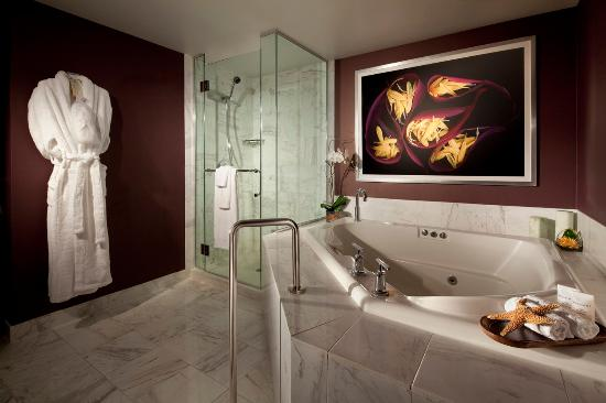 Tower spa suite bathroom picture of mgm grand hotel and for A signature hollywood salon