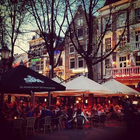 Restaurant Row Picture Of Leiden Square Leidseplein