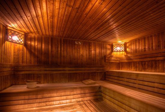 Paradfurdo, Hongaria: Sauna Erzsébet Hotel