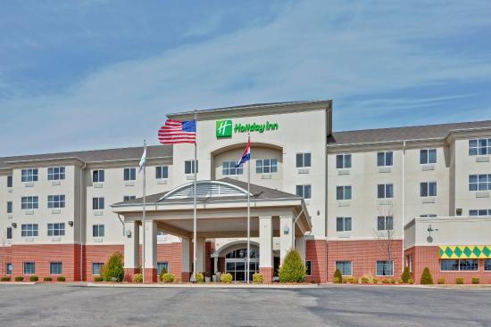 Welcome to the Holiday Inn in Poplar Bluff, Missouri