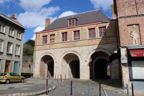 Porte de Roubaix : The inside of the gate (facing the city)