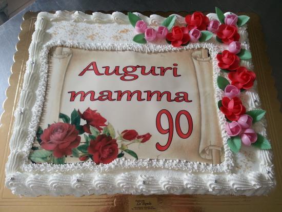 Torta Di Compleanno Con Foto Picture Of La Bignola
