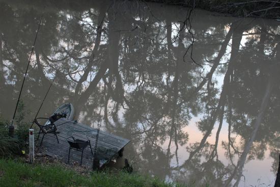 Chinchilla, Australia: sunrise over the river