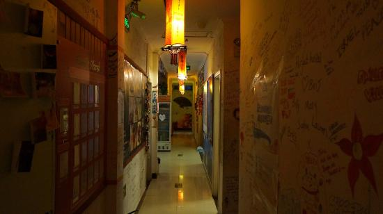 Happy Dragon Hostel: corridor