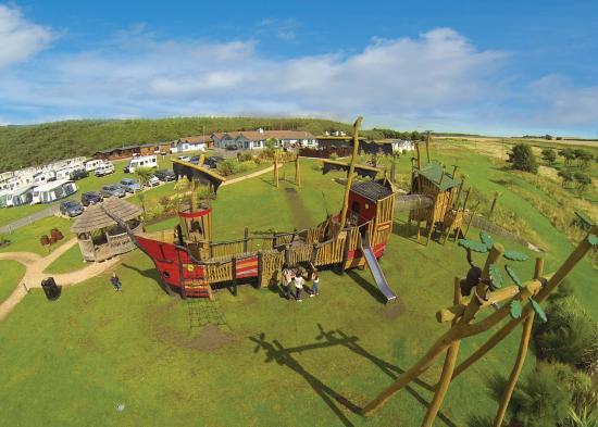 Elie Holiday Park: Robinson Crusoe Adventure Park at Elie Holiday Park