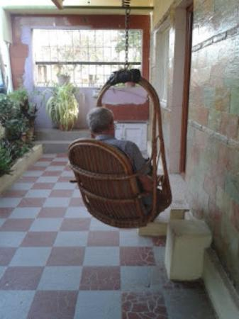 Manasa Guest House: You can sit outside