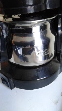 Travelodge Hotel Sudbury: Coffee maker and stand was all sticky, so not cleaned