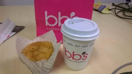 BB's Coffee & Muffins Cardiff: My marvelous muffin
