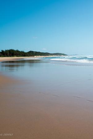 Zitundo, Mocambique: Pristine beach