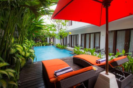 The Pavilion Hotel Kuta : Pavilion-our tropical garden for you