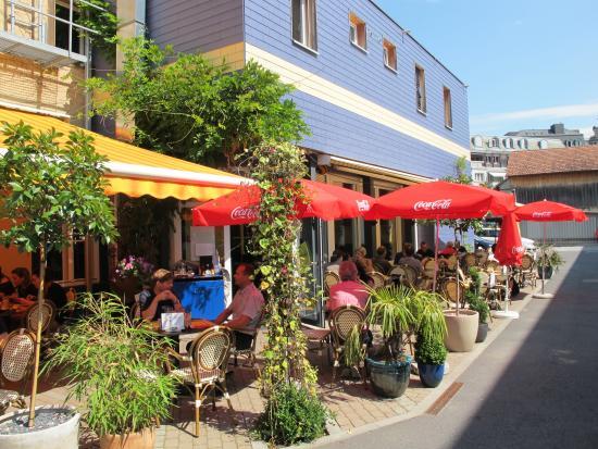 Brasserie 17: Terrasse