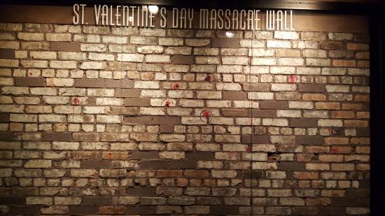The Mob Museum: St Valentineu0027s Day Massacre Wall