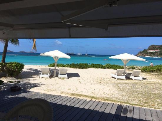Best Island Beaches For Partying Mykonos St Barts: Foto De Hotel Emeraude Plage, Saint-Jean: Esta Es La Vista