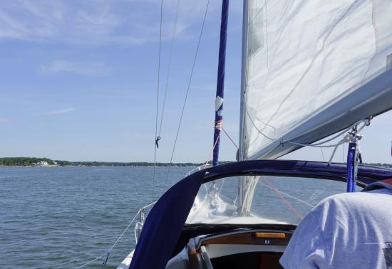 Summer Wind Charters: From the helm
