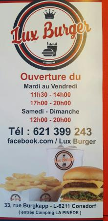 Consdorf, Luxembourg: Lux Burger