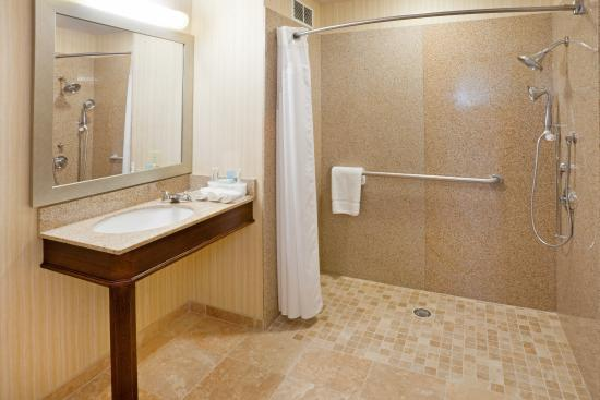 Holiday Inn Express Eagle Pass: Guest Bathroom