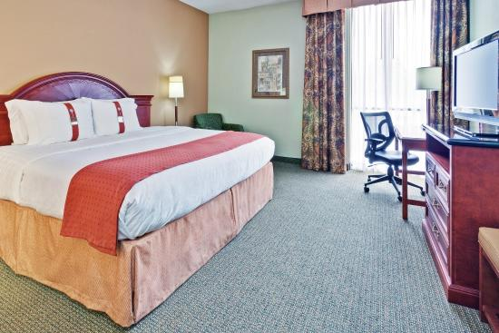 Holiday Inn Univ of Memphis: King Suite
