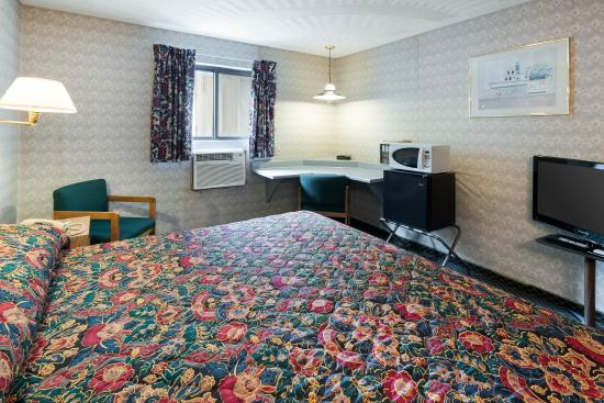 Chapmanville, Virgínia Ocidental: King guest room