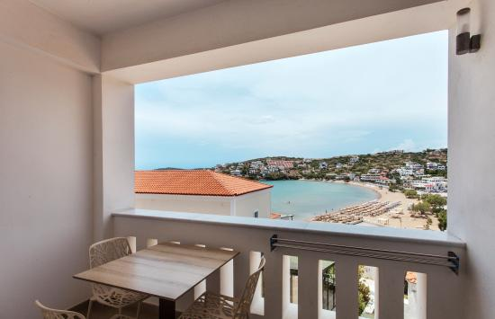 Krinos Suites Hotel : Junior Suite Sea View Balcony