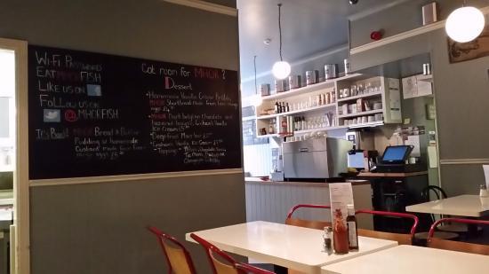 Callander, UK: Inside the cafe