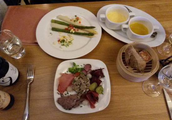 Ecurie du Parc: L'Assiette au Jambon d'Ardennes (cold starter)