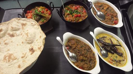 Walkden, UK: Many different dishes
