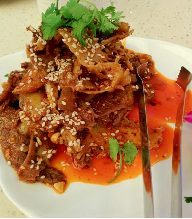 Rindleisch und Kutteln mit scharfer Sauce - Bild von Flaming Kitchen ...
