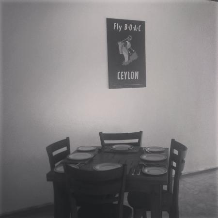 Southern Province, Sri Lanka: Our dining area